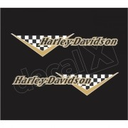 Adesivo Tanque Harley Davidson Custom adt021