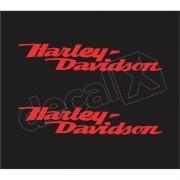 Adesivo Tanque Harley Davidson Custom adt024