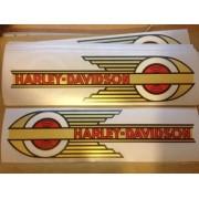 Adesivo Tanque Harley Davidson Custom adt026