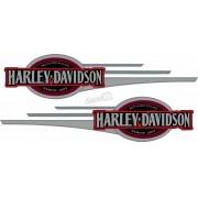 Adesivo Tanque Harley Davidson Custom adt31