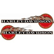 Adesivo Tanque Harley Davidson Custom adt32