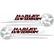 Adesivo Tanque Harley Davidson Custom adt33