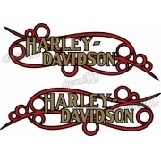 Adesivo Tanque Harley Davidson Custom adt38