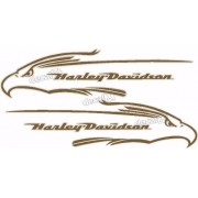 Adesivo Tanque Harley Davidson Custom adt41