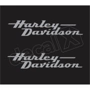 Adesivo Tanque Harley Davidson Custom dt023