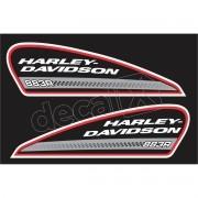 Adesivo Tanque Harley Davidson Sportster 883r Hdsxl002