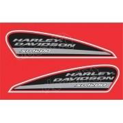 Adesivo Tanque Harley Davidson Sportster Xr 1200 Hdsxr001