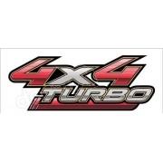 Adesivo Toyota Hilux 4x4 Turbo 2009 A 2012 Decalx