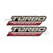 Adesivo Toyota Hilux Turbo Intercooler Par 2009 A 2012