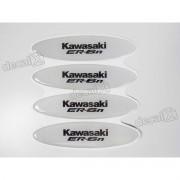 Adesivos Capacete Kawasaki Er-6n Resinados Refletivo