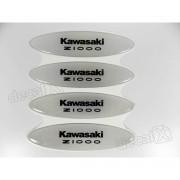 Adesivos Capacete Kawasaki Z1000 Resinados Refletivo