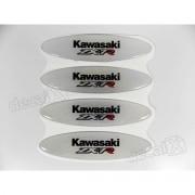 Adesivos Capacete Kawasaki Zx-7r Resinados Refletivo