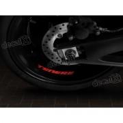 Adesivos Centro Roda Refletivo Moto Yamaha Tenere Rd14
