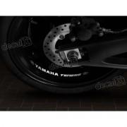 Adesivos Centro Roda Refletivo Moto Yamaha Tenere Rd35