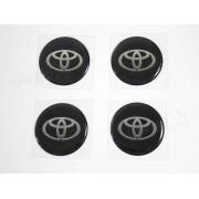 Adesivos Emblema Resinado Roda Toyota 100mm Cl7 Decalx