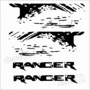 Adesivos Faixa Caçamba Ford Ranger Ran78