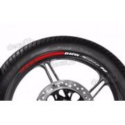 Adesivos Friso Refletivo Roda Moto Bmw S1000r Fri010