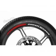 Adesivos Friso Refletivo Roda Moto Ducati 1198 Fri01