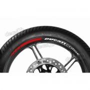 Adesivos Friso Refletivo Roda Moto Ducati Corse Fri13
