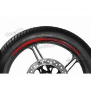 Adesivos Friso Refletivo Roda Moto Kawasaki NINJA ZX-10r Vermelho