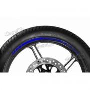 Adesivos Friso Refletivo Roda Moto Kawasaki Z1000 Azul