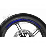 Adesivos Friso Refletivo Roda Moto Kawasaki Zx-11 Azul