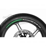 Adesivos Friso Refletivo Roda Moto Kawasaki Zx-11 Fri62