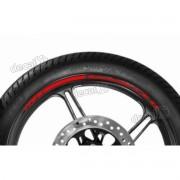 Adesivos Friso Refletivo Roda Moto Kawasaki Zx-11 Vermelho