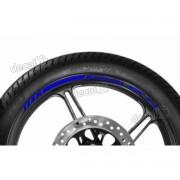 Adesivos Friso Refletivo Roda Moto Kawasaki Zx-7r Azul
