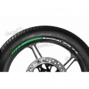 Adesivos Friso Refletivo Roda Moto Kawasaki Zx-7r Fri43