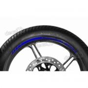 Adesivos Friso Refletivo Roda Moto Kawasaki Zx-9r Azul