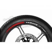 Adesivos Friso Refletivo Roda Moto Yamaha Fz6 Fri05