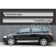 Adesivos Volkswagen Spacefox Comfortline