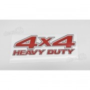 Emblema Adesivo 4x4 Nissan Frontier Heavy Duty