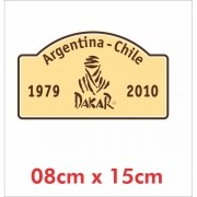 Emblema Adesivo 4x4 Off Road Jeep Willys Cherokee Ad22