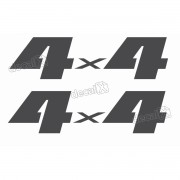 Emblema Adesivo 4x4 Suzuki Jimny Par