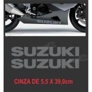 Emblema Adesivo Carenagem Gsxr Suzuki Par Cr05