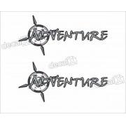 Emblema Adesivo Fiat Strada Adventure Par Strda28