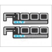 Emblema Adesivo Ford F1000 Xlt