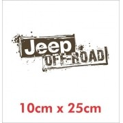 Emblema Adesivo Jeep Off Road Willys Renegade Cherokee