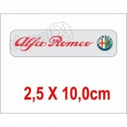 Emblema Adesivo Resinado Alfa Romeo Res6
