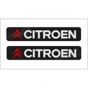 Emblema Adesivo Resinado Coluna Citroen Decalx