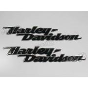 Emblema Adesivo Resinado Harley Davidson r20