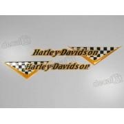 Emblema Adesivo Resinado Harley Davidson rs24