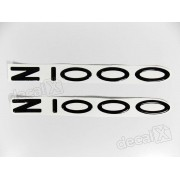 Emblema Adesivo Resinado Kawasaki Z1000 re32