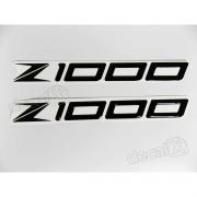 Emblema Adesivo Resinado Kawasaki Z1000 re33