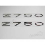 Emblema Adesivo Resinado Kawasaki Z750 re22