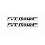 Emblema Adesivo Resinado Nissan Frontier Strike