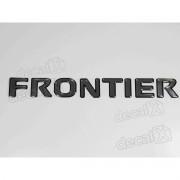 Emblema Adesivo Resinado Nissan Frontier Tampa Traseira