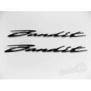 Emblema Adesivo Resinado Suzuki Bandit